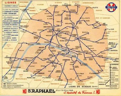 Subway Map Paris English.Paris Metro Maps From The Traditional To The Unique Lodgis Blog