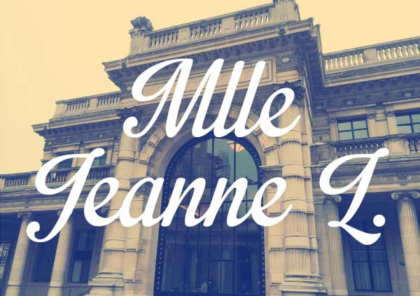 mlle Jeanne