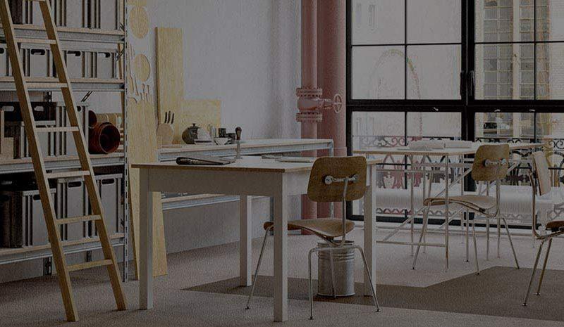 Atelier d'artistes à Paris
