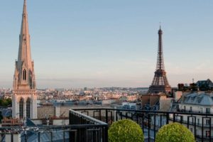 Vue Paris balcon