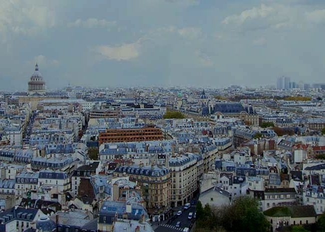 vue panoramique de Paris