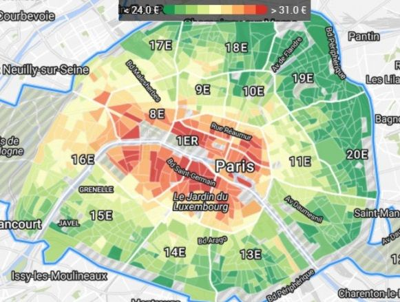Which Neighborhoods In Paris Are Suitable For Families Lodgis Blog - Paris map neighborhoods