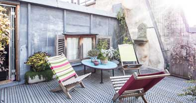 Appartements avec terrasse Lodgis