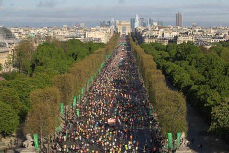 Paris Marathon 1