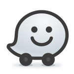 Logo application mobile Waze