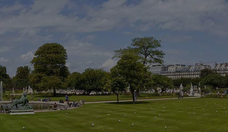 parc et jardins paris