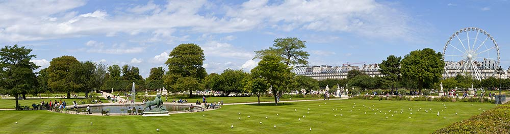 discover the neighborhood of the louvre and the tuileries