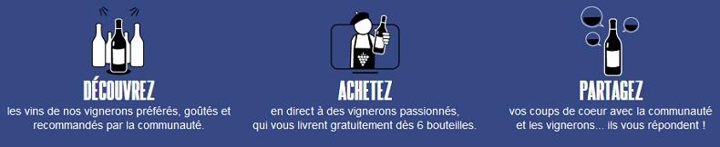 Mode d'emploi pour achetez du vin sur lesgrappes.com