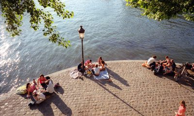 Picnic quais de seine Paris été
