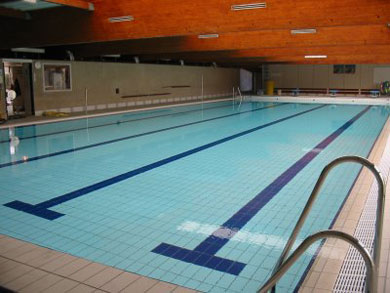 A public swimming pool
