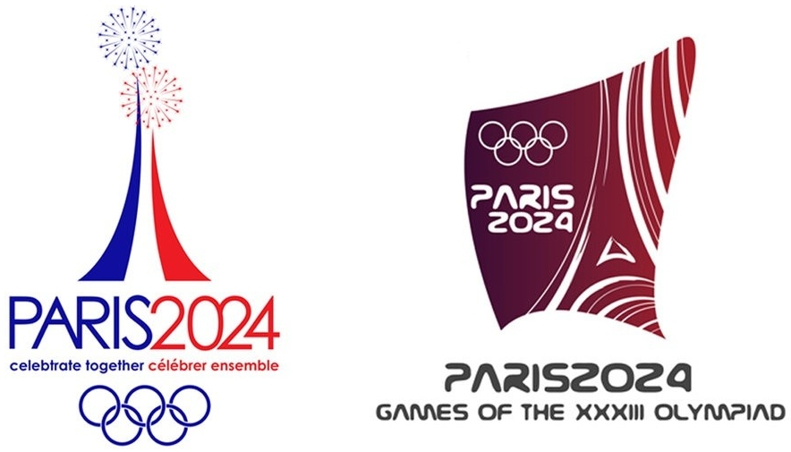 Paris 2024 Summer Olympics Games logos