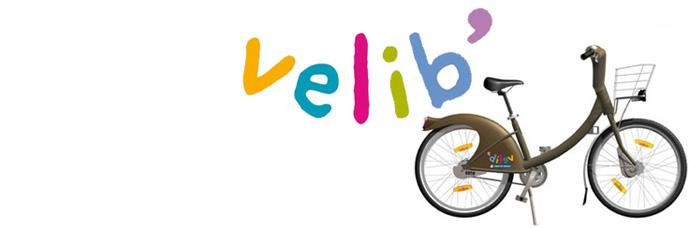 Le Vélib' de Paris (vélo en libre circulation à Paris).