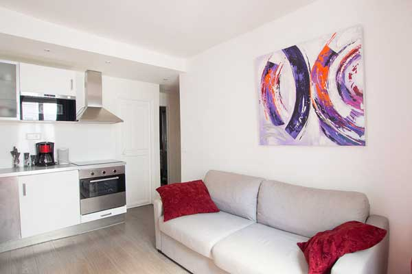 Location meublée dans le 17ème arrondissement de Paris