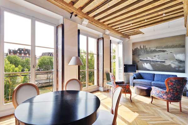 Appartements avec vue sur la Seine