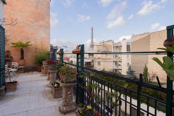 Appartements avec terrasse à louer à Paris