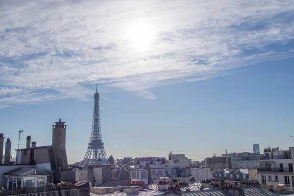 appartement meublé avec vue sur Paris