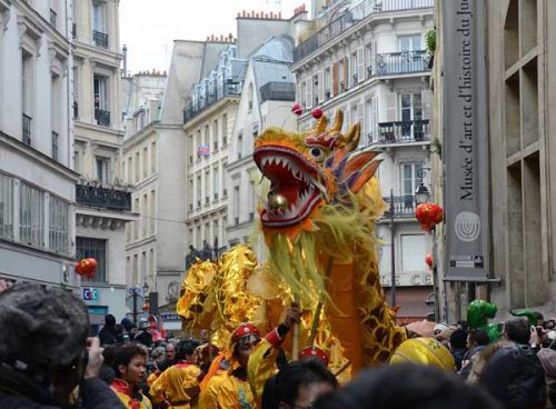 Paris Chinese New Year
