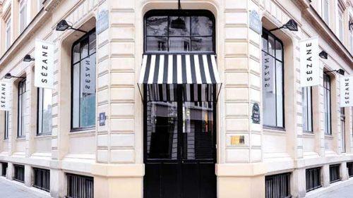 parisian brands Sezane