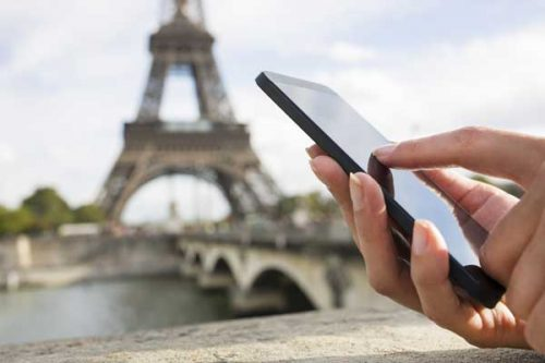paris checklist phone