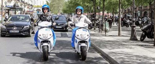 electric scooters cityscoot paris