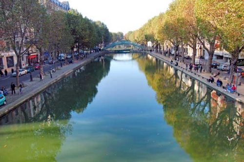 paris summer canal