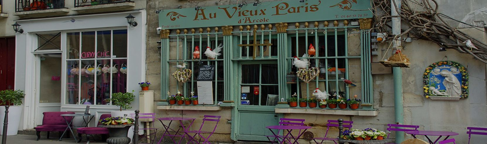 Au Vieux Paris d'Arcole Café