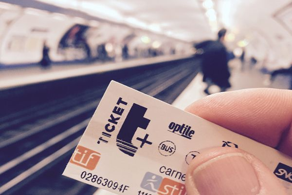 Ticket Métro